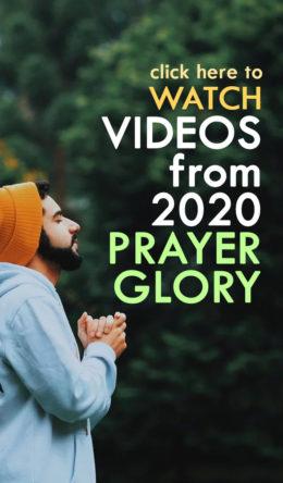 2020 Prayer Glory